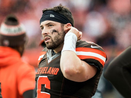 Baker Mayfield is the Cleveland Browns&#39; 27th starting quarterback since the start of the 2001 season. [19659078] Baker Mayfield is the Cleveland Browns&#39; 27th starting quarterback since the start of the 2001 season. <meta itemprop=