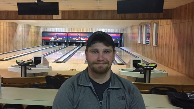 Conrad senior Alec Breding took up the sport of bowling after a concussion in his junior year all but ended his athletic career.