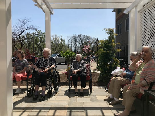Residents at Reformed Church Home in Old Bridge enjoyed