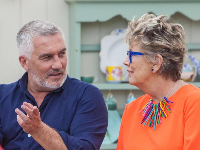 "Paul Hollywood and Prue Leith on Netflix's ""The Great"