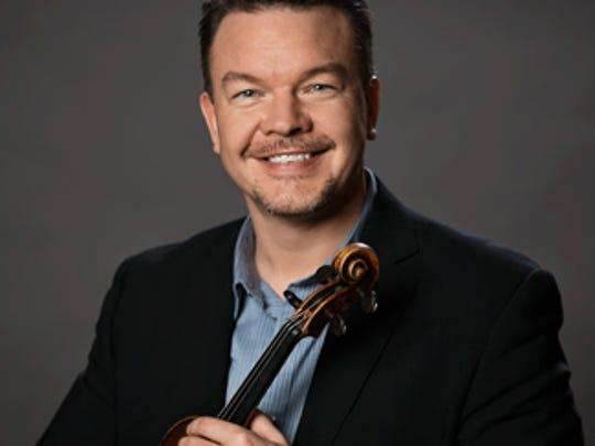 CSO concertmaster Timothy Lees