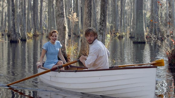 Rowboat's are romantic, duh! 'The Notebook' taught