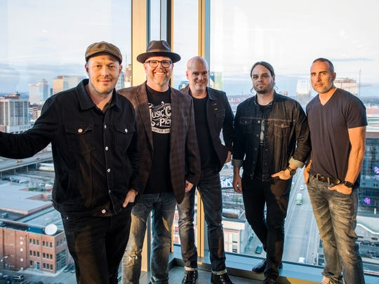 MercyMe held a listening party at The Steps at WME, playing and performing songs from their new album, Lifer.