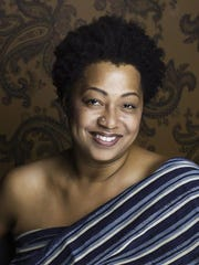 Lisa Fischer performs Saturday with the Grand Baton