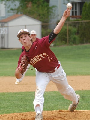 A Duke recruit, Adam Laskey helped Haddon Heights advance to the quarterfinals of the 43rd annual Joe Hartmann Diamond Classic with a win over Millville on Saturday.