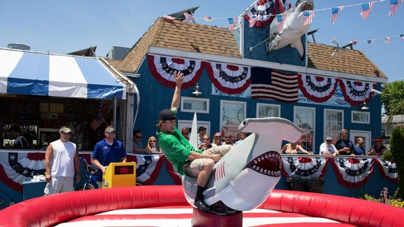 The Starboard has rented a new mechanical shark for special events in Dewey Beach this summer.