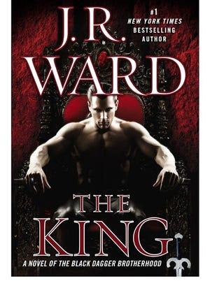 """""""The King"""" by J.R. Ward."""