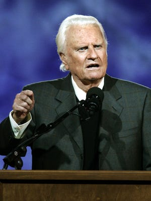 Billy Graham in 2005.