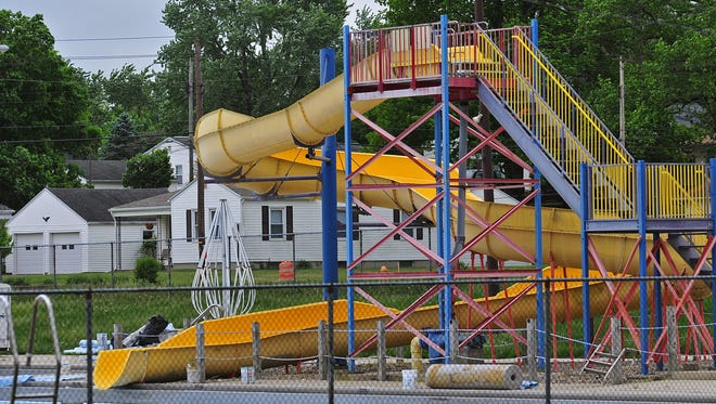 A new slide for Cordell Municipal Pool is among the upgrades that Richmond parks officials want to make should city council approve a new bond.