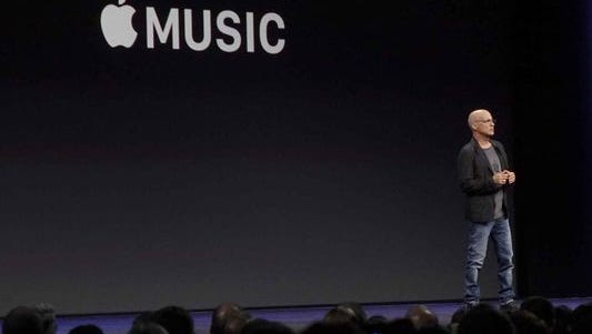 Jimmy Iovine, who joined Apple when it purchased Beats Electronics last year, announced the new Apple Music streaming service at WWDC this past spring.