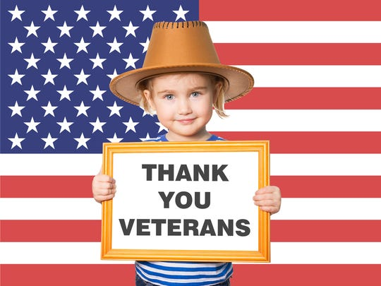 On Veterans Day, we give thanks to everyone who has ever donned a uniform of the United States military.