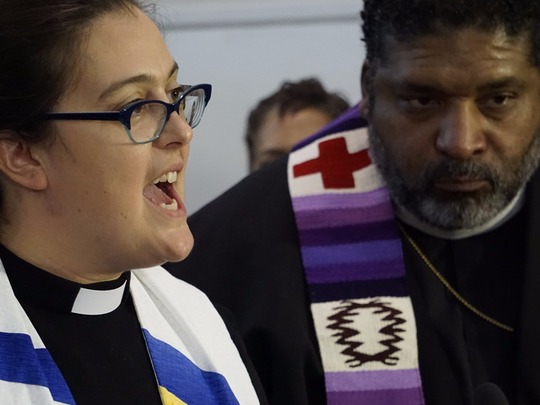The Rev. Liz Theoharis and the Rev. William Barber