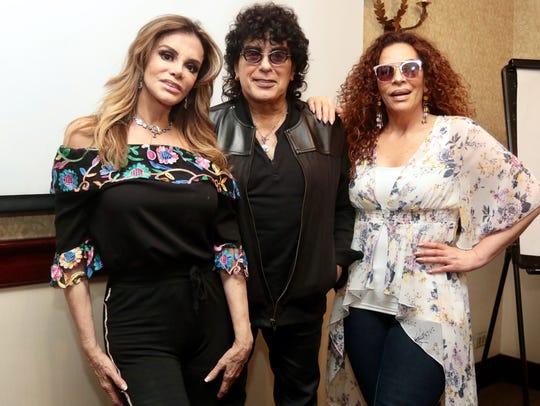 Lucía Méndez, Laureano Brizuela y María del Sol promocionan