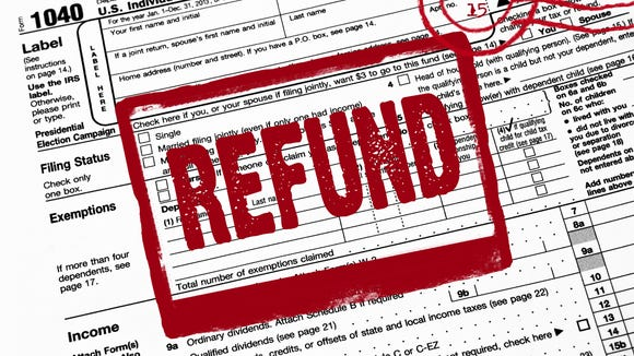 Many people are anticipating a tax refund from the