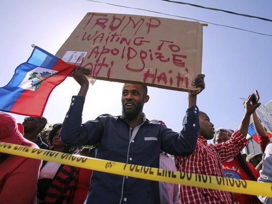 Trump Haiti