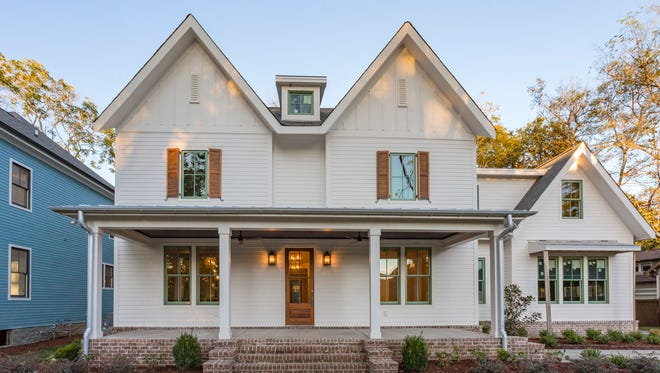 Capstone Homes, LLC. designed and built the home at 226 11th Avenue South to blend in seamlessly with its decades old neighbors.