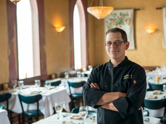 Victor's Italian Restaurant executive chef George Sheffer