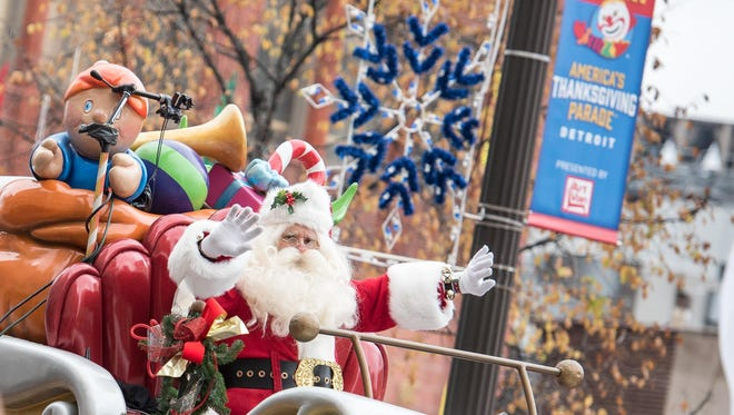 America's Thanksgiving Parade will kick off at Kirby and Woodward at 8:50 a.m. Thursday and will travels south on Woodward to Congress.