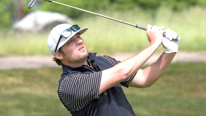 Former St. John's High golfer Kyle Tibbetts tied for third in medal play at the MassAmateur.