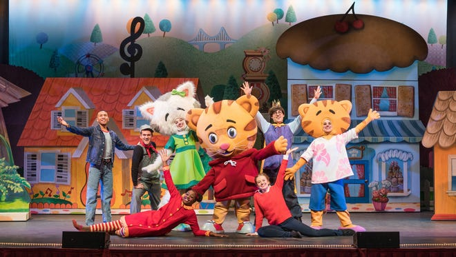 Two performances of Daniel Tigers Neighborhood Live planned at the Palace Theatre.