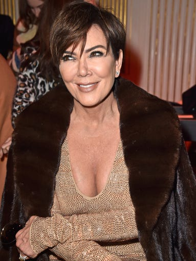 Kris Jenner, 60:  Family matriarch and financial mastermind.