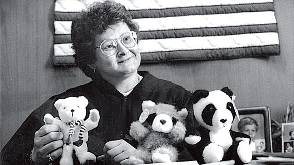 Sheryl Ann Dorney used stuffed bears to build relationships with children in her courtroom.