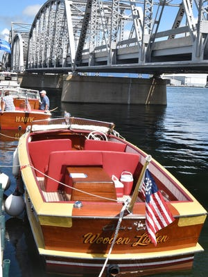 Gorgeous vessels go on display in the water as well as on land in the annual Door County Classic & Wooden Boat Festival at the Door County Maritime Museum in Sturgeon Bay, taking place for a 27th year this weekend.