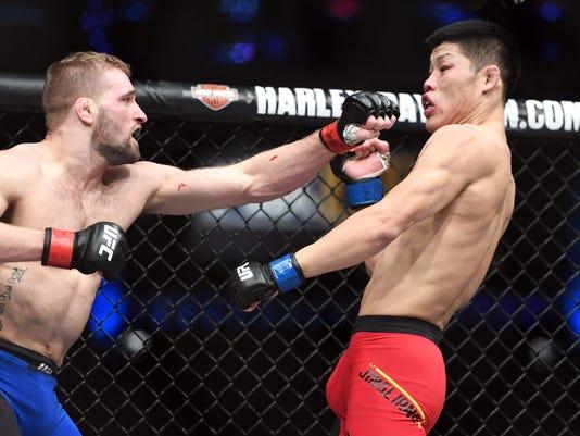 MMA: UFC Fight Night-Nash vs Jingliang