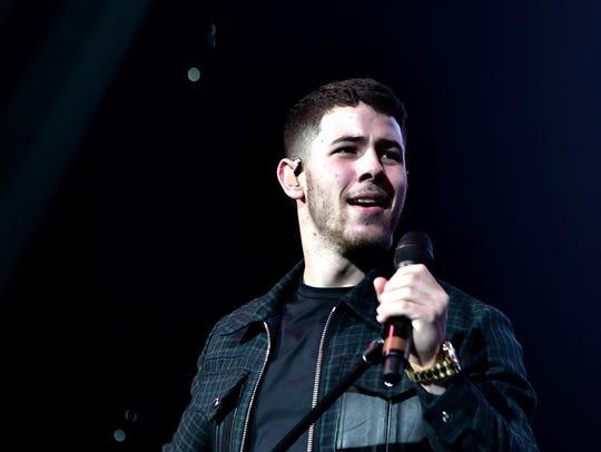 Nick Jonas will perform Saturday at Meadow Brook.