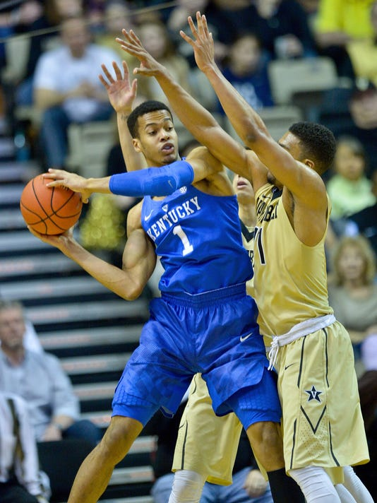 NCAA Basketball: Kentucky at Vanderbilt