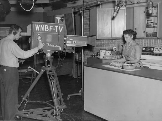 Local cooking show on WNBF TV.