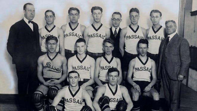 The 1923-24 Passaic High School Hilltoppers.