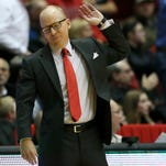 Cincinnati Bearcats head coach Mick Cronin waves off an official in reaction to a call in the second half during the NCAA college basketball game between the Houston Cougars and the Cincinnati Bearcats, Wednesday, Jan. 13, 2016, at Fifth Third Arena in Cincinnati. Cincinnati Bearcats defeated the Houston Cougars 70-59.