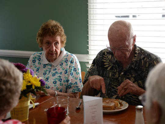 Former owners of Brooks Restaurant Mary and Sam Patton