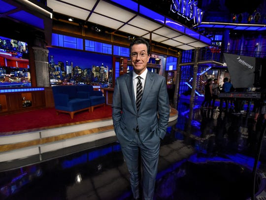 """I was never a stand-up,"" Colbert says. ""I'm an improvisor."""