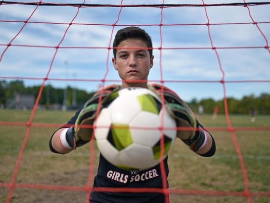 Vineland Goalie Molly Atkinson