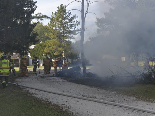 The City of Two Rivers and Town of Two Rivers fire