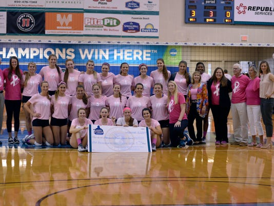 UWF Volleyball Pack It Pink