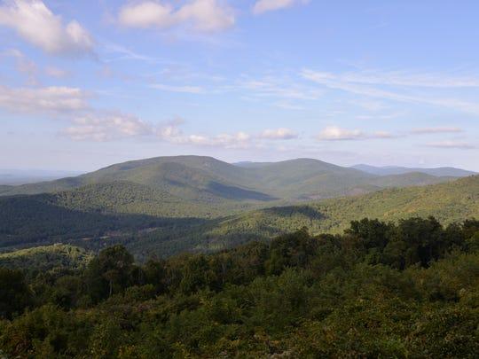 McCormick Gap Overlock in Shenandoah National Park on Sept. 23, 2015.