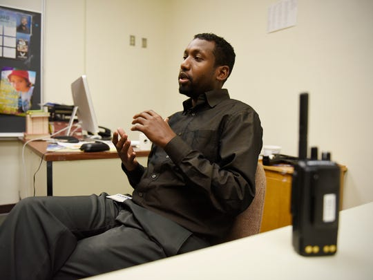 Ahmed Abdi talks about his job as the bilingual communications