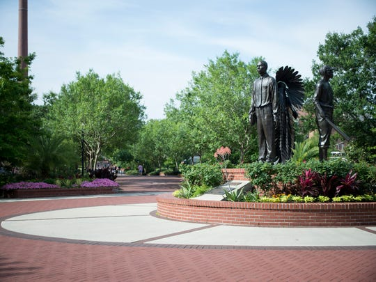 The Integration Statue celebrates FSU opening its doors