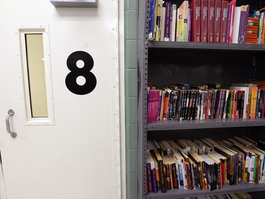 Pods have books available to the inmates at the Caddo Parish Juvenile Justice Complex.