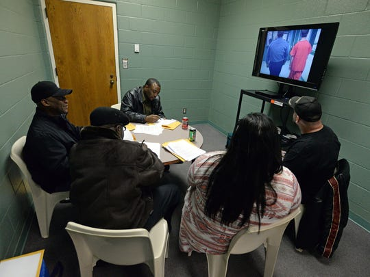 New offers undergo training before they start as pod leaders at the Caddo Parish Juvenile Justice Complex.
