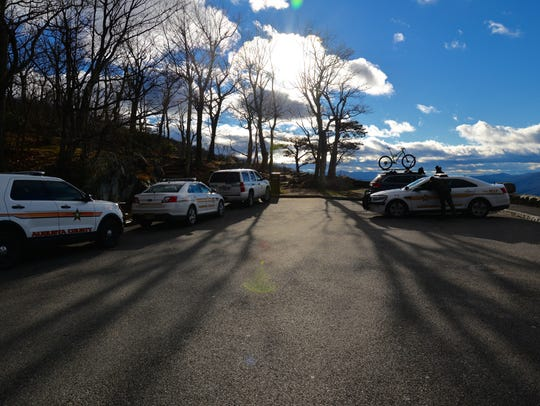 A body was discovered off the Ravens Roost Overlook