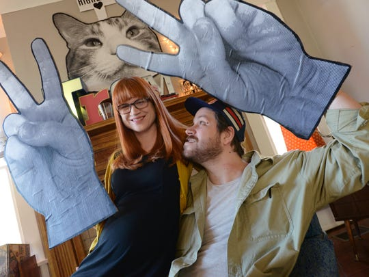 Amy and Nathan Treme are one local couple making their