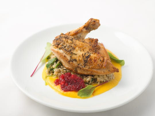 French-country style dishes served by executive chef