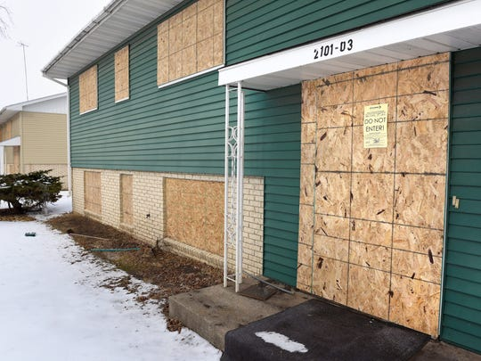 According to Lisa Schreifels, health director for St. Cloud, St. Cloud city staff issued orders for the owner to secure four duplexes after a string of ordinance violations and trespassing incidents.