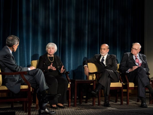 Fed Chairs meet