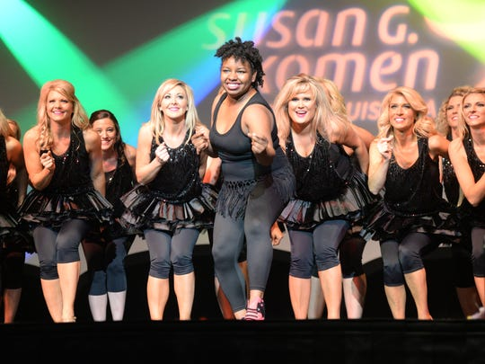 The Shreveport Times' own Tiana Kennell dances to the