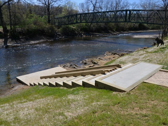 Waynesboro Water Trail after officially opened on Tuesday,